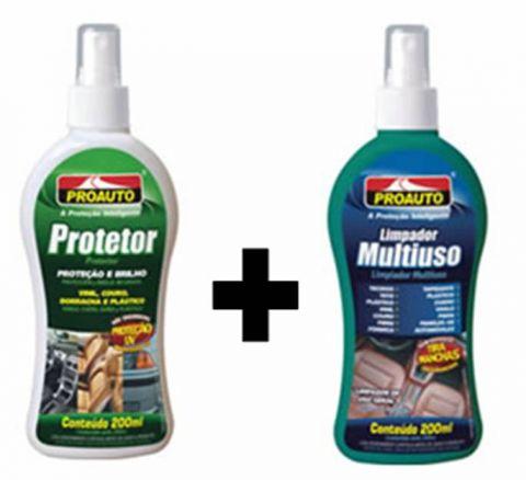 Limpador Multiuso + Protetor Proauto 200ml