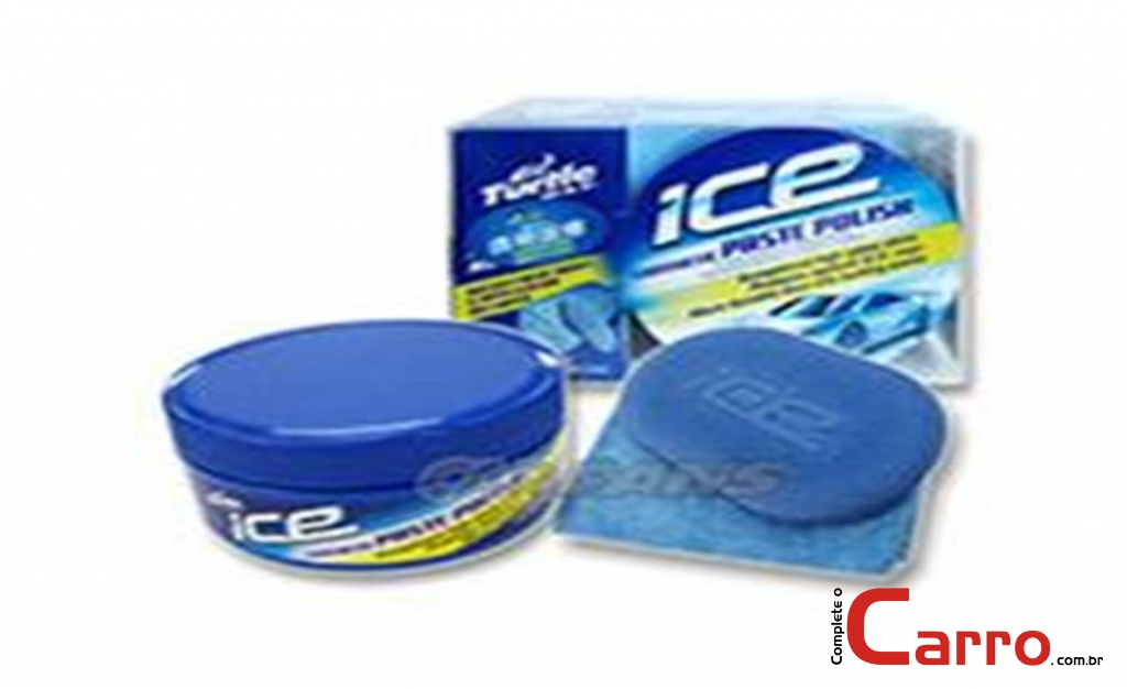 Cera Turtle Wax Kit Ice Synthetic Paste Polish - Brilho inte