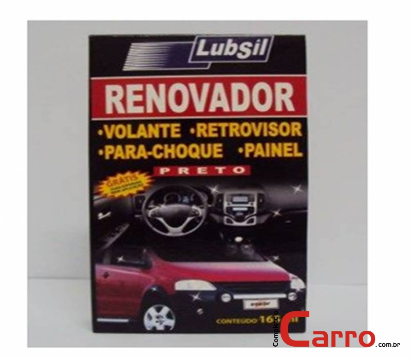 Kit Grand Car Renovador de Para-Choque Preto - 165ml
