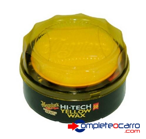 Cera Carnaúba Amarela Hi-tech Yellow Wax Meguiar's 311g
