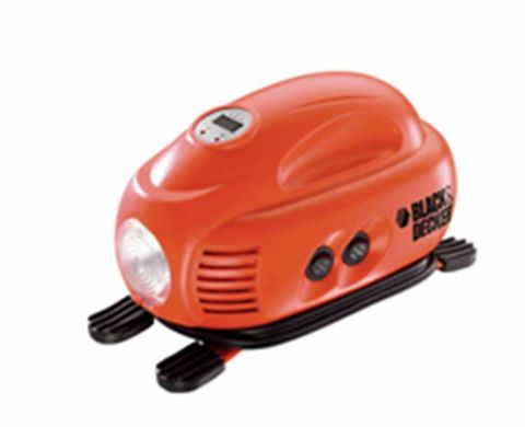 Mini Compressor Digital para Veiculos 12V- Black & Decker- A
