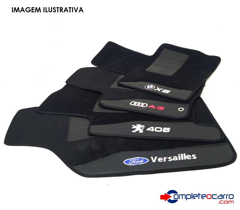 Jogo de Tapetes Personalizados FIAT 500 - 2009/2010 - 4 PÇS