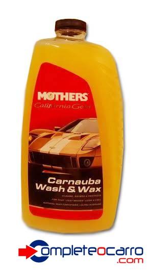 Shampoo com Carnauba - Carnauba Wash e Wax Mothers - 1,8L