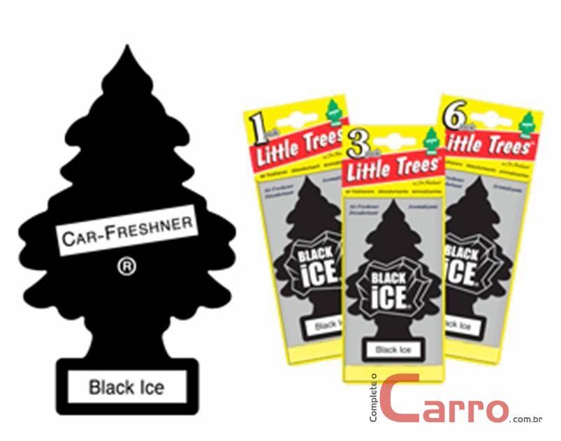 Aromatizante Little Trees - Black ICE - Car Freshner