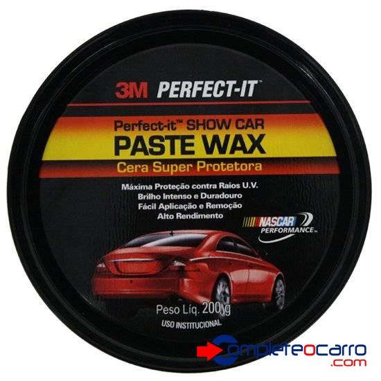 Cera Paste Wax 3M Super Protetora 3M Perfect-It (200g)