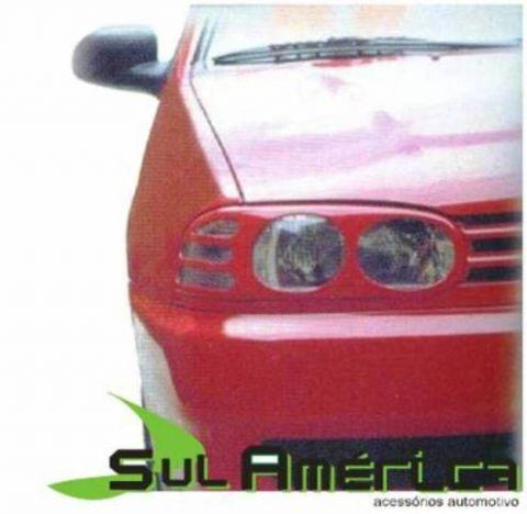 MASCARA NEGRA DE FAROL VW GOL PARATI SAVEIRO 2ªGERAÇÃO 95/99