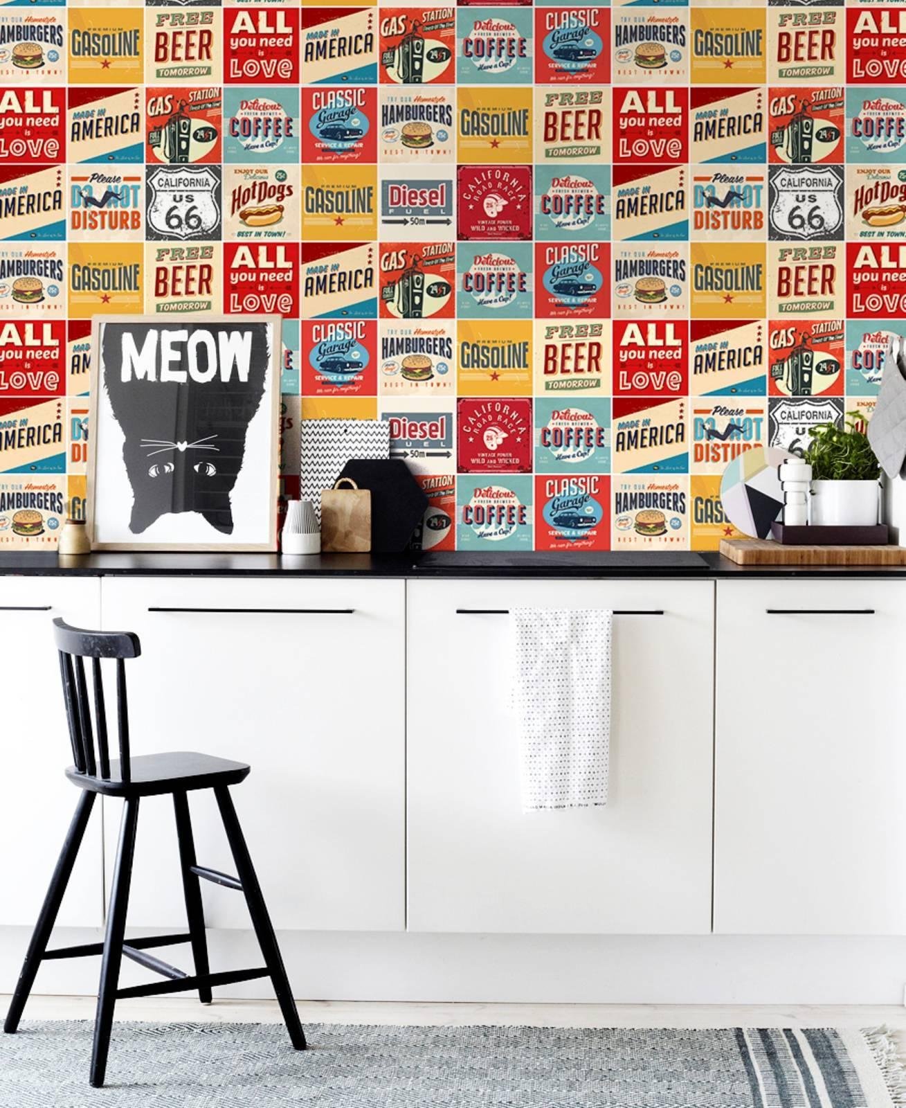 Redecorei > Adesivo de Azulejo > Cozinha / Banheiro #AC241F 1309x1600 Banheiro Com Azulejo Retro