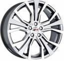 Jogo de Rodas Audi A1 aro 18x7 5x114 Grafite Diamantada Replica k44