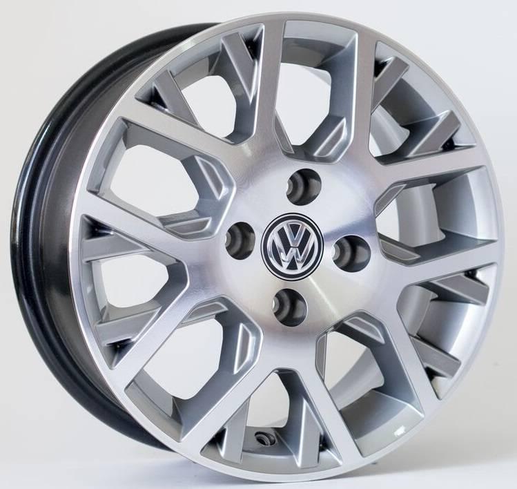 Jogo de Rodas VW Saveiro Cross Aro 17' - Furação 4x100 - GD - R45