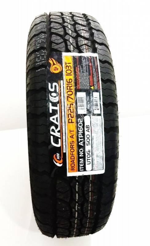 Pneu Cratos Aro 16' 225/70 r16 103T RoadFors A/T