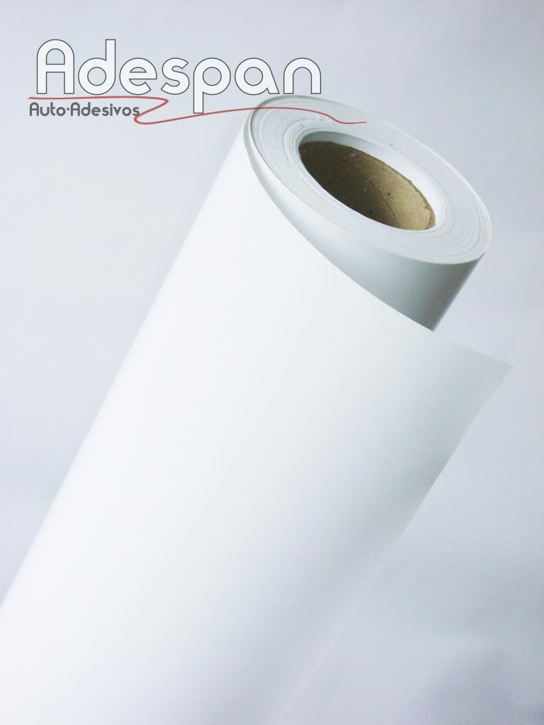 Vinil Branco Premium 0,10mm c/1,22m/lg