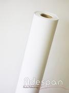 Vinil Branco Fosco Premium 0,08mm c/1,22m/lg | ADESPAN