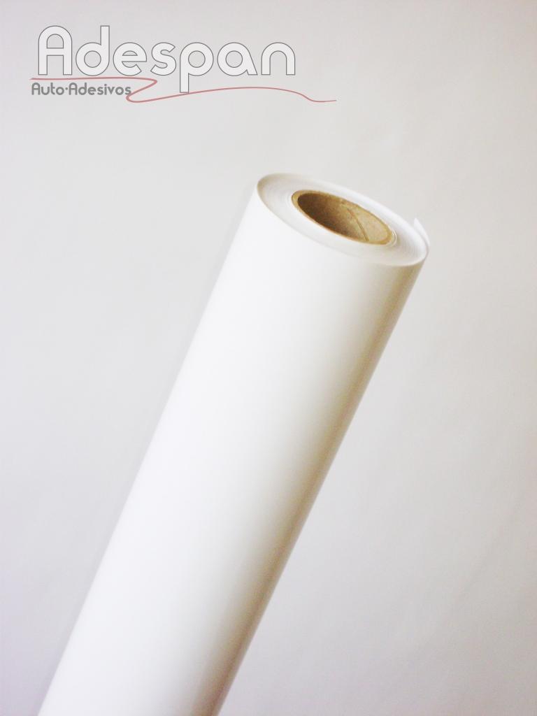 Vinil Branco Removível Premium 0,10mm c/1,22m/lg