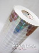 Vinil Holográfico Prisma c/1,00m/lg | ADESPAN