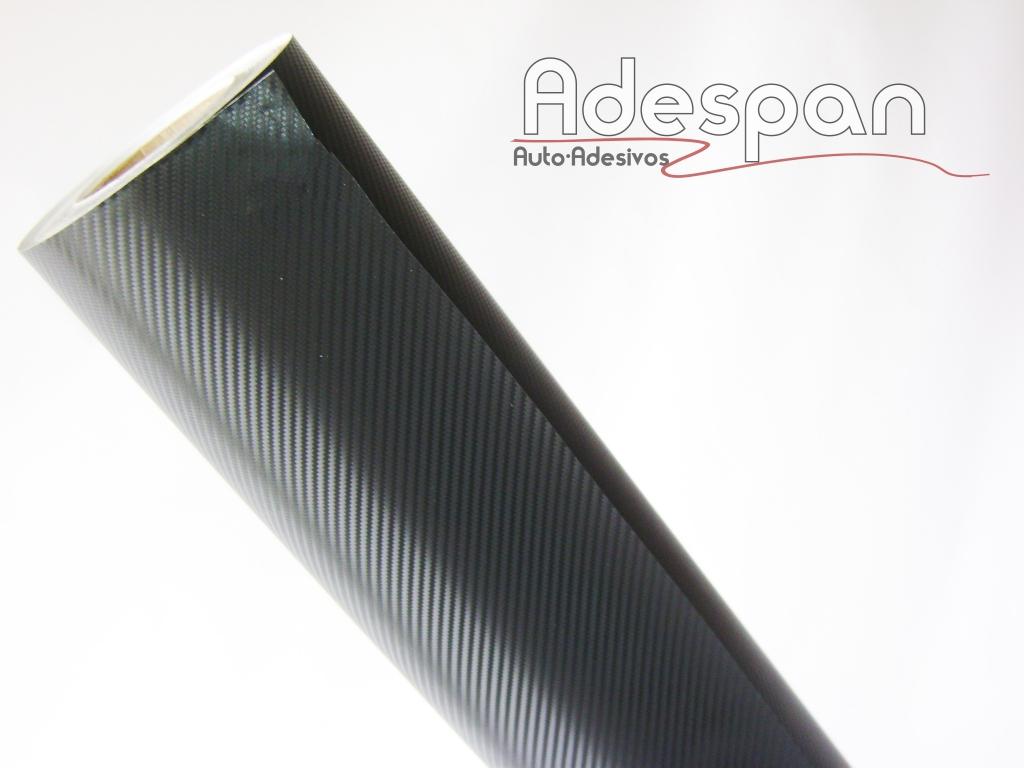 Vinil Fibra de Carbono Preto Texturizado c/1,38m/lg