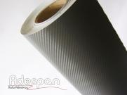 Vinil Fibra de Carbono Grafite Texturizado c/1,38m/lg | ADESPAN