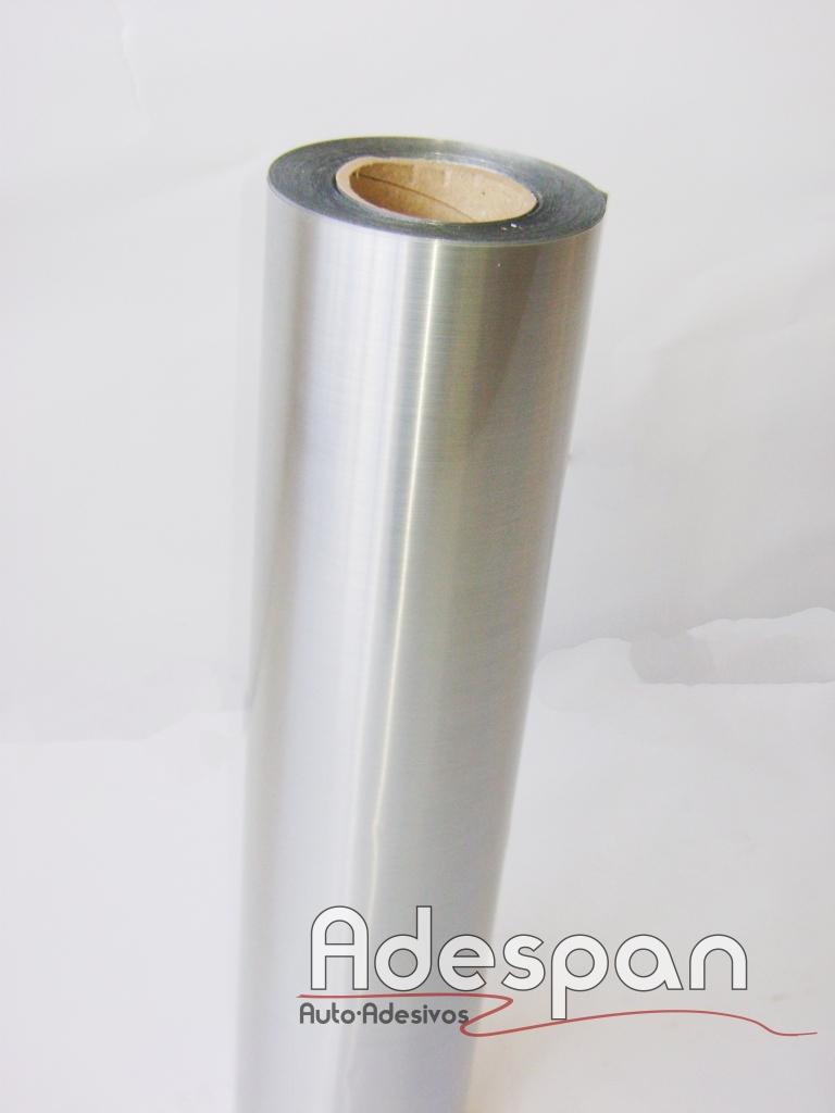 Vinil Escovado Prata c/1,22m/lg