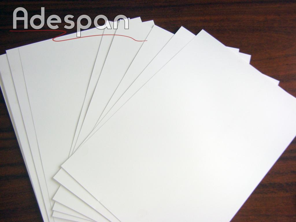 Pvc Laser Branco 200MIC 0,33x0,48m c/100 folhas