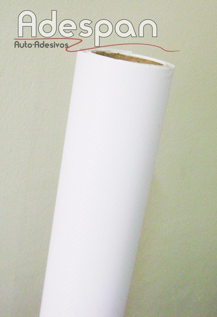 Vinil Fibra de Carbono Branco (Fibraline) c/1,22m/lg
