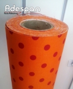 Tecido Autocolante Bola Media Laranja | ADESPAN