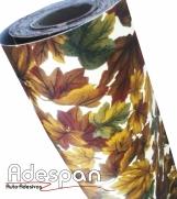 Tecido Autocolante Folha Seca | ADESPAN