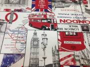 Tecido Autocolante Inglaterra | ADESPAN