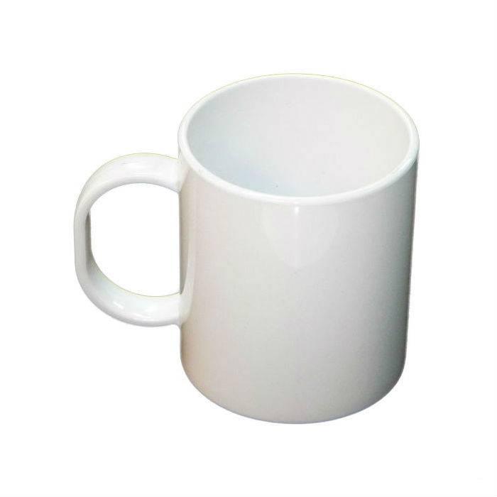 Caneca Plástica de Café para Sublimação - 400 ml