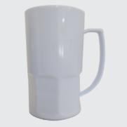 Caneca de Chopp Branca para Sublimação - 500 ml | ADESPAN