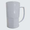 Caneca de Chopp Branca para Sublimação - 500 ml