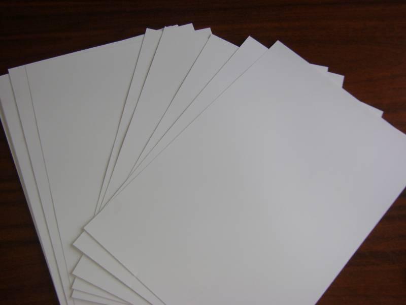 Vinil Adesivo para Jato de Tinta  Transparente 10 FOLHAS A4 (210X297MM)