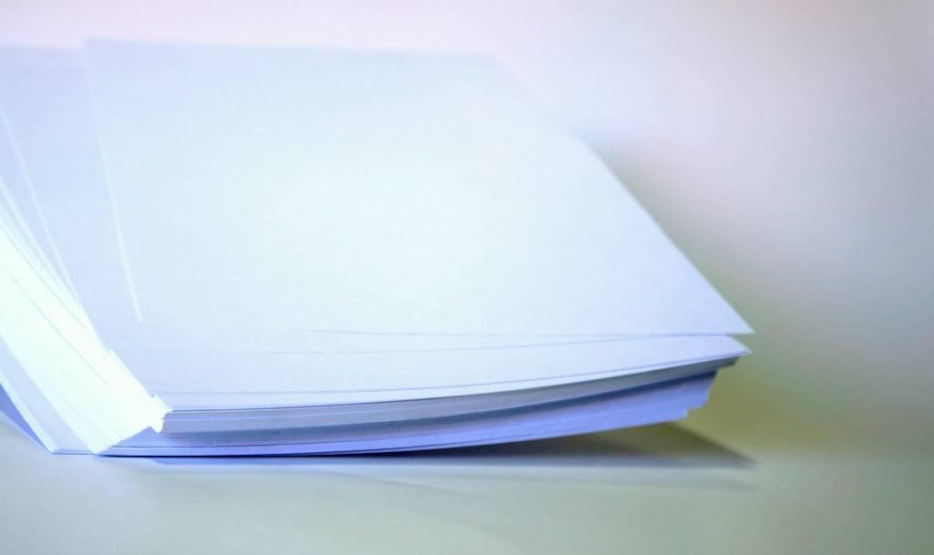 Vinil Adesivo para Jato de Tinta Branco Fosco  10 Folhas A4 (21