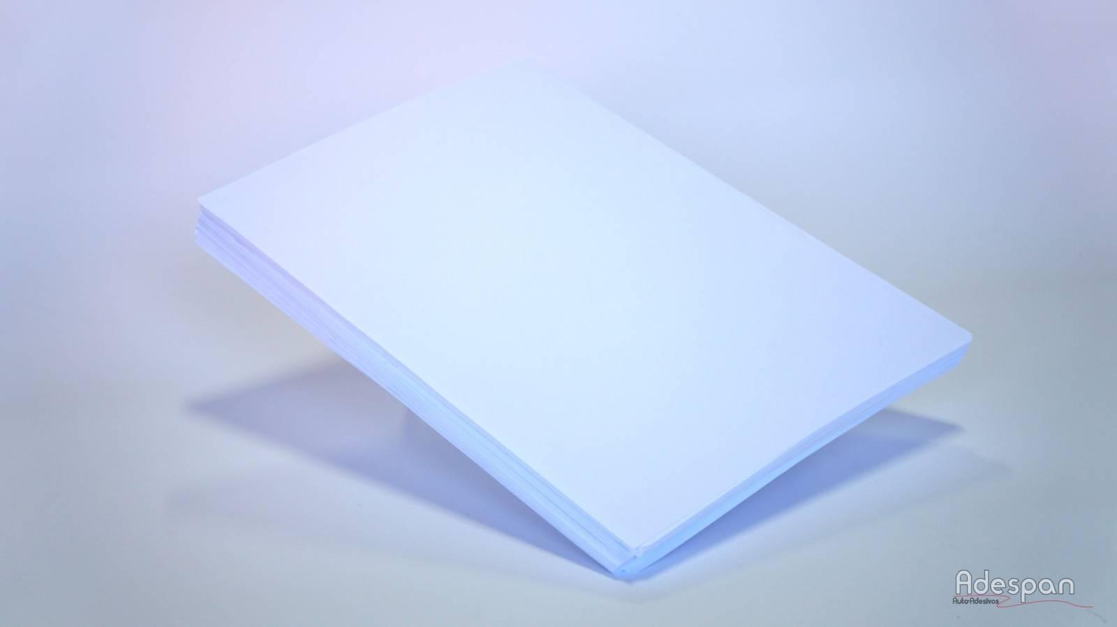PVC Laser Branco 200MIC A3 10 folhas