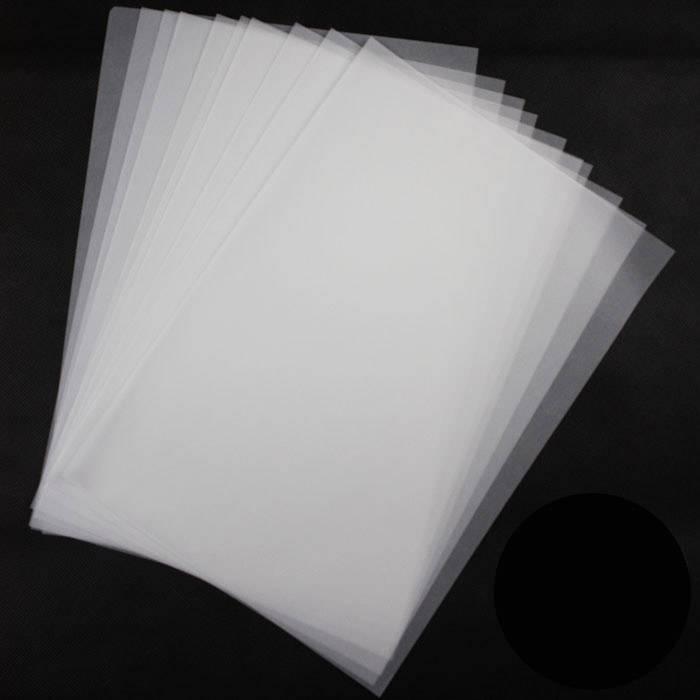 Midia Clear film transparente A3 c/100 folhas