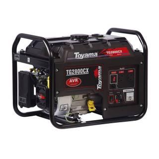 Gerador a Gasolina Toyama TG2800CX  2.2Kva Monofásico Partida Manual