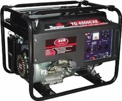 Gerador a Gasolina Toyama TG6500CXE 5.5Kva Monofásico Partida Elétrica