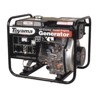 Gerador a Diesel Toyama TD4000CX 3.3Kva Monofásico Partida Manual
