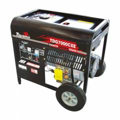Gerador a Diesel Toyama TD7000CXE 5.5Kva Monofásico Partida Elétrica
