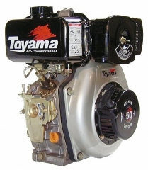 Motor Toyama Diesel TD50F 4,7HP Partida Manual