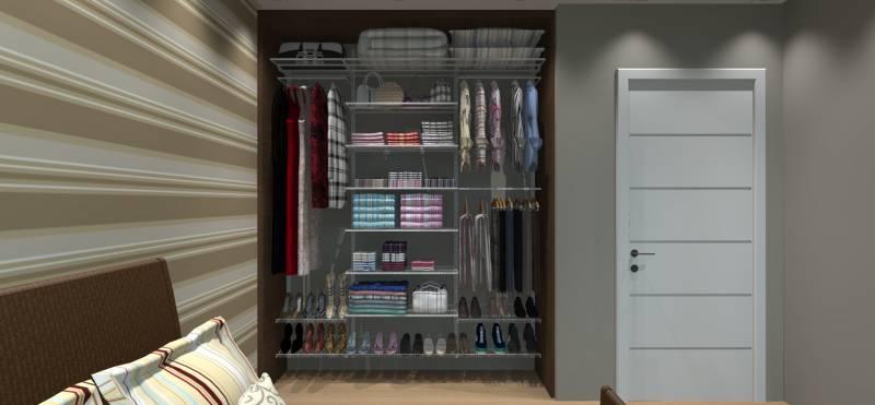 Closet Completo - Kit CL190 - 1,90 metros