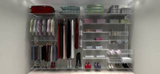 Closet Completo - Kit CL350 - 3,50 metros