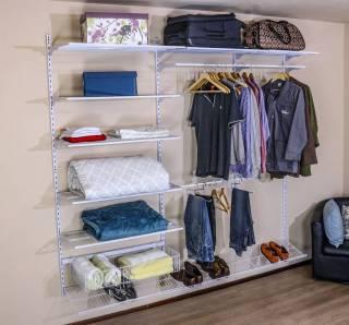Closet Completo - Kit CL230  com cabideiro longo- 2,30 metros