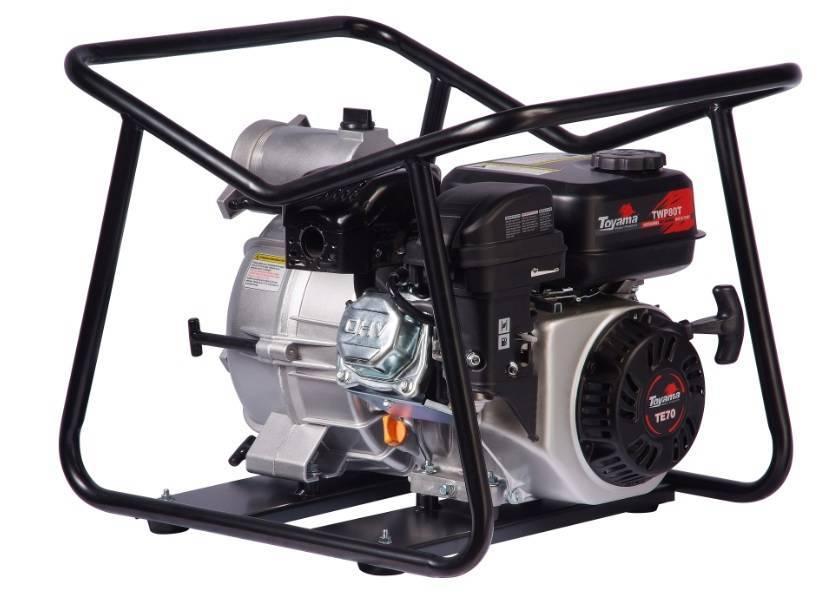 Motobomba TOYAMA autoescorvante 3'x3' TWP80T 7,0Hp p/ água s