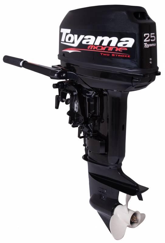 Motor de popa TOYAMA MARINE TM25TS - 25 Hp - 2 tempos