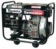 Gerador diesel TOYAMA TD6000CXE