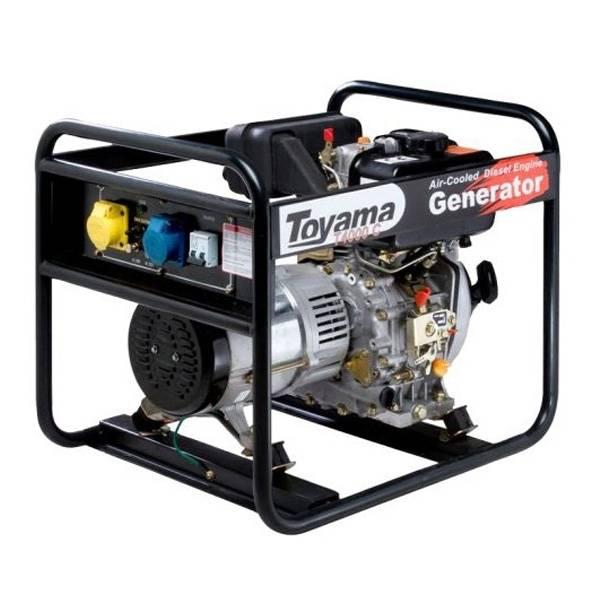 Gerador diesel TOYAMA TD4000CX 3,8 Kva