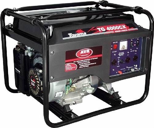 Gerador gasolina TOYAMA TG4000CX2V 3,4 Kva