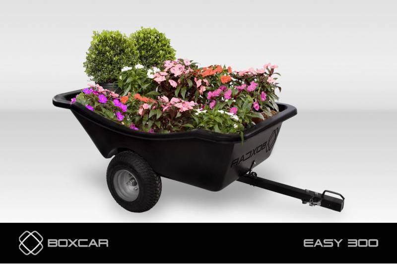 Carreta trator de cortar grama EASY 300 BOXCAR