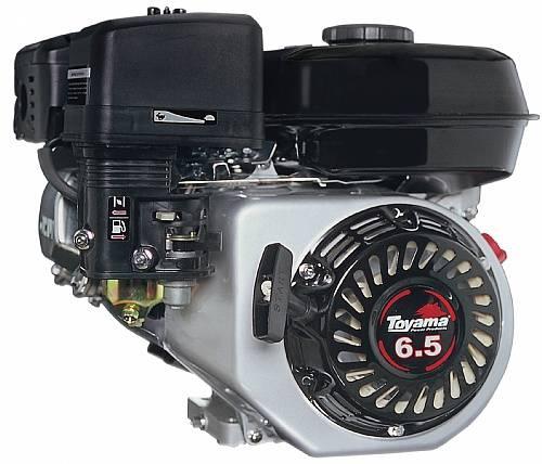 Motor TOYAMA 6,5HP 4T eixo 3/4'c/ sensor de óleo TE65