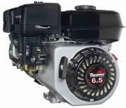 Motor TOYAMA 6,5HP 4T c/ sens. óleo bobina luz  part. elétr.