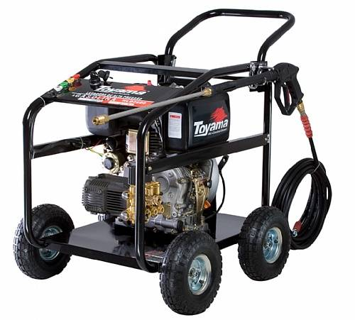 Lavadora de alta pressão diesel TOYAMA 3000psi HLD3600